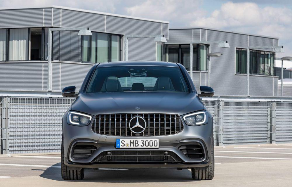 Noile Mercedes-AMG GLC 63 și GLC 63 Coupe: motor V8 biturbo de 4.0 litri de până la 510 cai putere - Poza 54