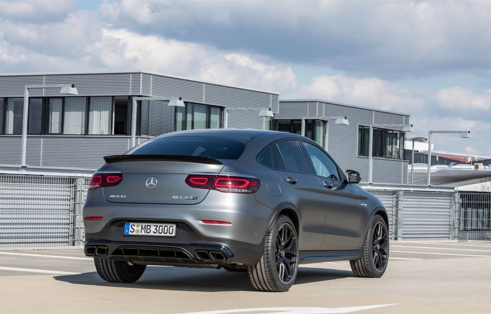 Noile Mercedes-AMG GLC 63 și GLC 63 Coupe: motor V8 biturbo de 4.0 litri de până la 510 cai putere - Poza 52