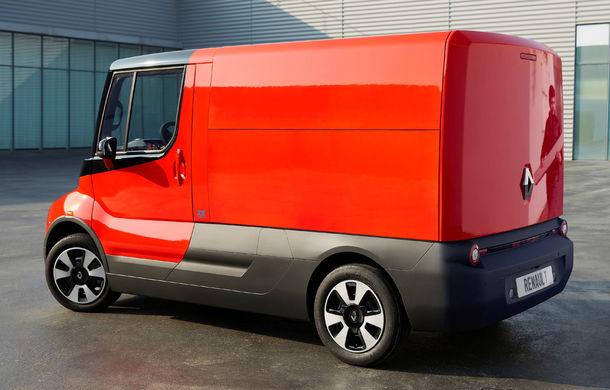 Renault lansează EZ-Flex: utilitara electrică cu autonomie de 150 de kilometri pentru livrări în oraș va fi testată într-un program pilot - Poza 2