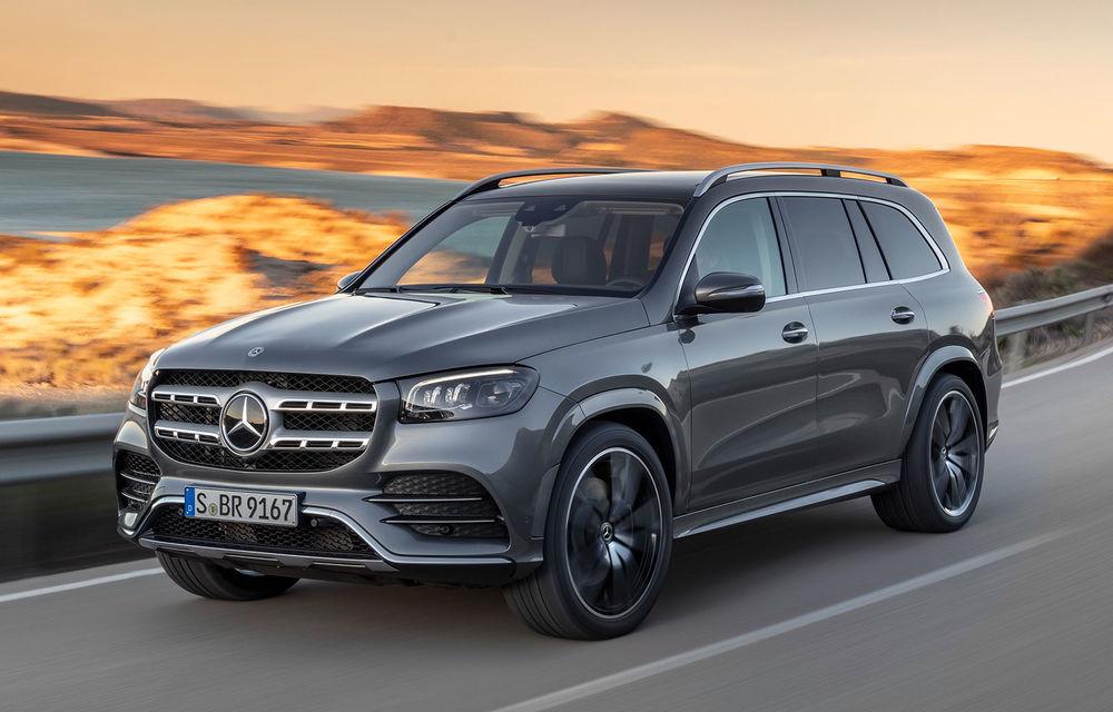 Mercedes-Benz a prezentat noua generație GLS: design îmbunătățit, versiune cu șase locuri și motorizări pe benzină cu sistem mild-hybrid - Poza 1