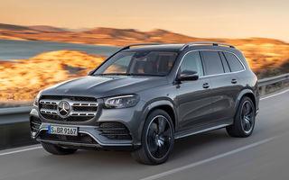Mercedes-Benz a prezentat noua generație GLS: design îmbunătățit, versiune cu șase locuri și motorizări pe benzină cu sistem mild-hybrid