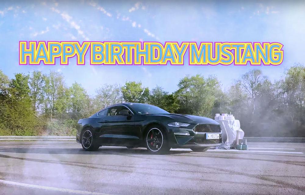 Ford are motive de sărbătoare: muscle car-ul Mustang a împlinit 55 de ani - Poza 1