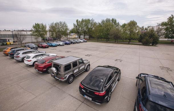 Un copil într-un magazin de jucării: am condus Skoda Kodiaq RS, Mercedes Clasa G și Audi Q8 la testul noii anvelope Michelin Pilot Sport 4 SUV - Poza 19
