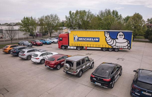 Un copil într-un magazin de jucării: am condus Skoda Kodiaq RS, Mercedes Clasa G și Audi Q8 la testul noii anvelope Michelin Pilot Sport 4 SUV - Poza 17