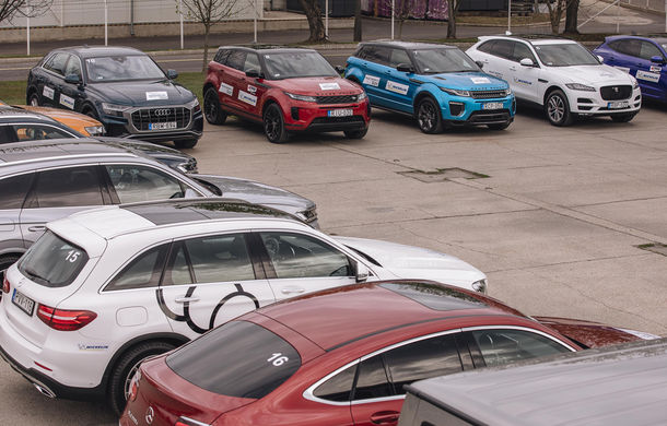 Un copil într-un magazin de jucării: am condus Skoda Kodiaq RS, Mercedes Clasa G și Audi Q8 la testul noii anvelope Michelin Pilot Sport 4 SUV - Poza 18