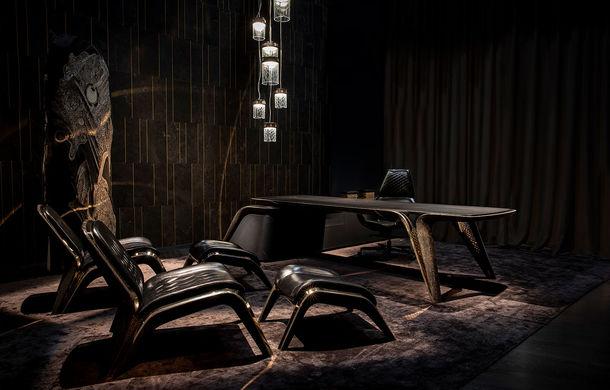 Divizia Bentley Home a pregătit câteva piese de mobilier cu ocazia centenarului mărcii: fiecare produs va fi asamblat manual în doar 100 de unități - Poza 1
