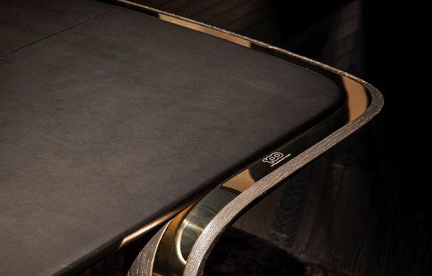 Divizia Bentley Home a pregătit câteva piese de mobilier cu ocazia centenarului mărcii: fiecare produs va fi asamblat manual în doar 100 de unități - Poza 2