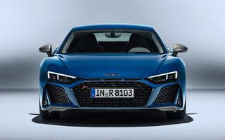 Audi e-tron GTR ar putea înlocui în gamă actualul R8: viitorul model electric va avea aproximativ 670 CP și autonomie de peste 480 de kilometri