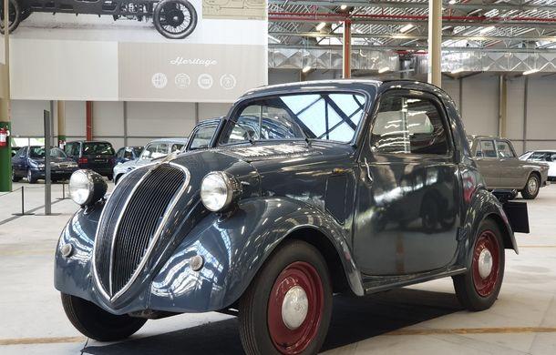 Raiul italian: o vizită la FCA Heritage Hub, locul în care strălucesc modelele clasice Fiat, Lancia și Abarth - Poza 19