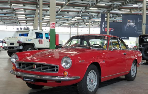 Raiul italian: o vizită la FCA Heritage Hub, locul în care strălucesc modelele clasice Fiat, Lancia și Abarth - Poza 17