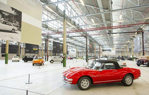 Raiul italian: o vizită la FCA Heritage Hub, locul în care strălucesc modelele clasice Fiat, Lancia și Abarth - Poza 11