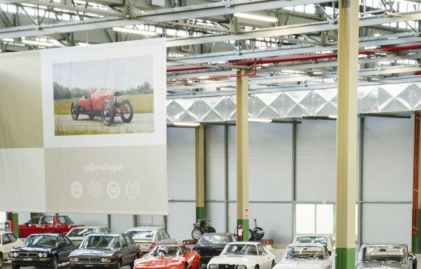 Raiul italian: o vizită la FCA Heritage Hub, locul în care strălucesc modelele clasice Fiat, Lancia și Abarth - Poza 6
