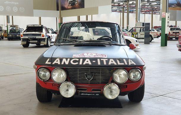 Raiul italian: o vizită la FCA Heritage Hub, locul în care strălucesc modelele clasice Fiat, Lancia și Abarth - Poza 38