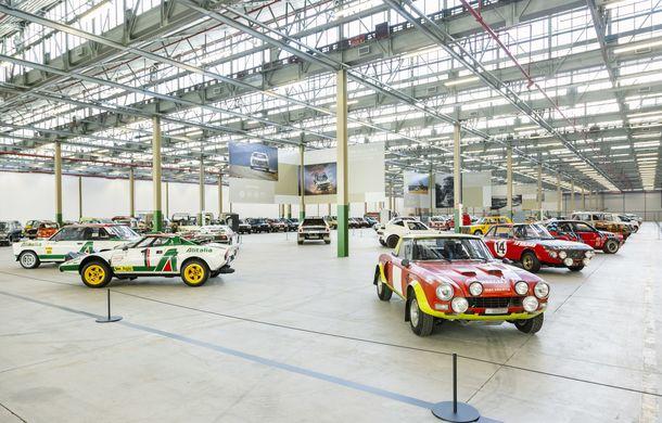 Raiul italian: o vizită la FCA Heritage Hub, locul în care strălucesc modelele clasice Fiat, Lancia și Abarth - Poza 14