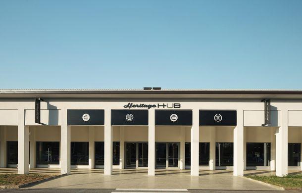 Raiul italian: o vizită la FCA Heritage Hub, locul în care strălucesc modelele clasice Fiat, Lancia și Abarth - Poza 2