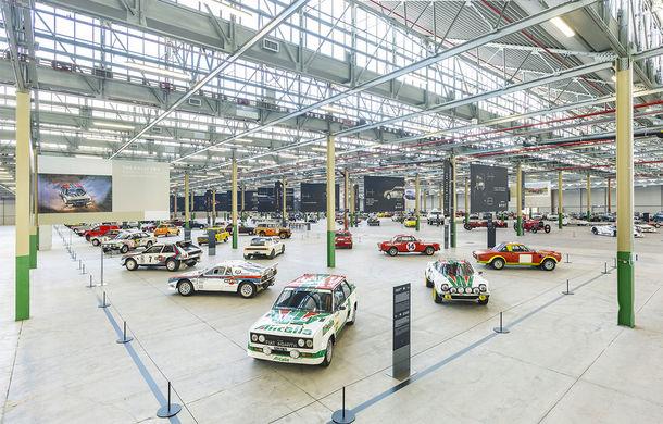 Raiul italian: o vizită la FCA Heritage Hub, locul în care strălucesc modelele clasice Fiat, Lancia și Abarth - Poza 1