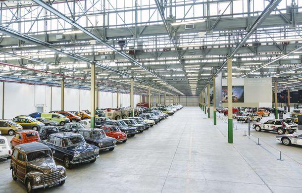 Raiul italian: o vizită la FCA Heritage Hub, locul în care strălucesc modelele clasice Fiat, Lancia și Abarth - Poza 4
