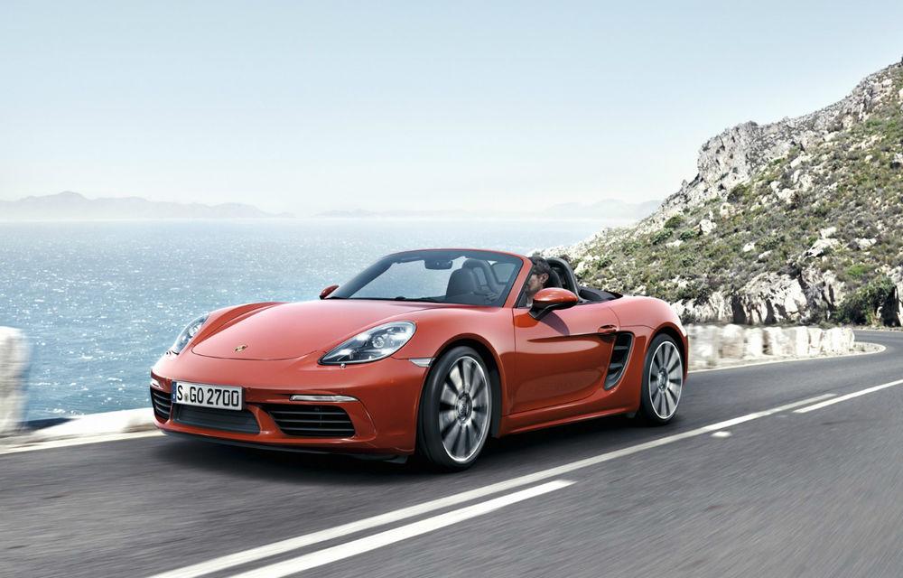 Noile generații Porsche Boxster și Cayman vor avea versiuni electrice până în 2022: sunt luate în calcul versiuni mild-hybrid și plug-in hybrid - Poza 1
