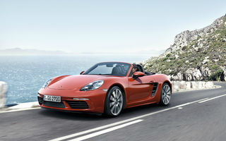 Noile generații Porsche Boxster și Cayman vor avea versiuni electrice până în 2022: sunt luate în calcul versiuni mild-hybrid și plug-in hybrid