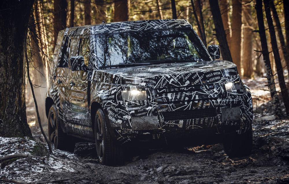 Noua generație Land Rover Defender va fi prezentată în toamna acestui an: livrările demarează în 2020 - Poza 1
