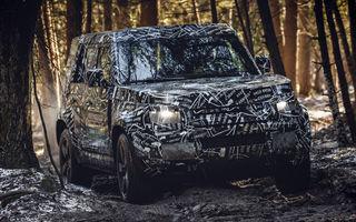 Noua generație Land Rover Defender va fi prezentată în toamna acestui an: livrările demarează în 2020