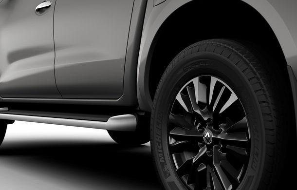 Îmbunătățiri pentru Renault Alaskan: pick-up-ul are o capacitate de încărcare de 1.1 tone și un nou motor diesel de 2.3 litri de până la 190 CP - Poza 5