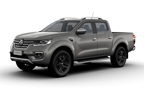 Îmbunătățiri pentru Renault Alaskan: pick-up-ul are o capacitate de încărcare de 1.1 tone și un nou motor diesel de 2.3 litri de până la 190 CP - Poza 2