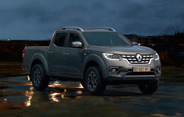 Îmbunătățiri pentru Renault Alaskan: pick-up-ul are o capacitate de încărcare de 1.1 tone și un nou motor diesel de 2.3 litri de până la 190 CP - Poza 1