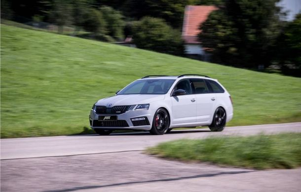 ABT propune un pachet de performanță pentru Skoda Octavia Combi RS: 290 CP și 410 Nm pentru break-ul din Cehia - Poza 2