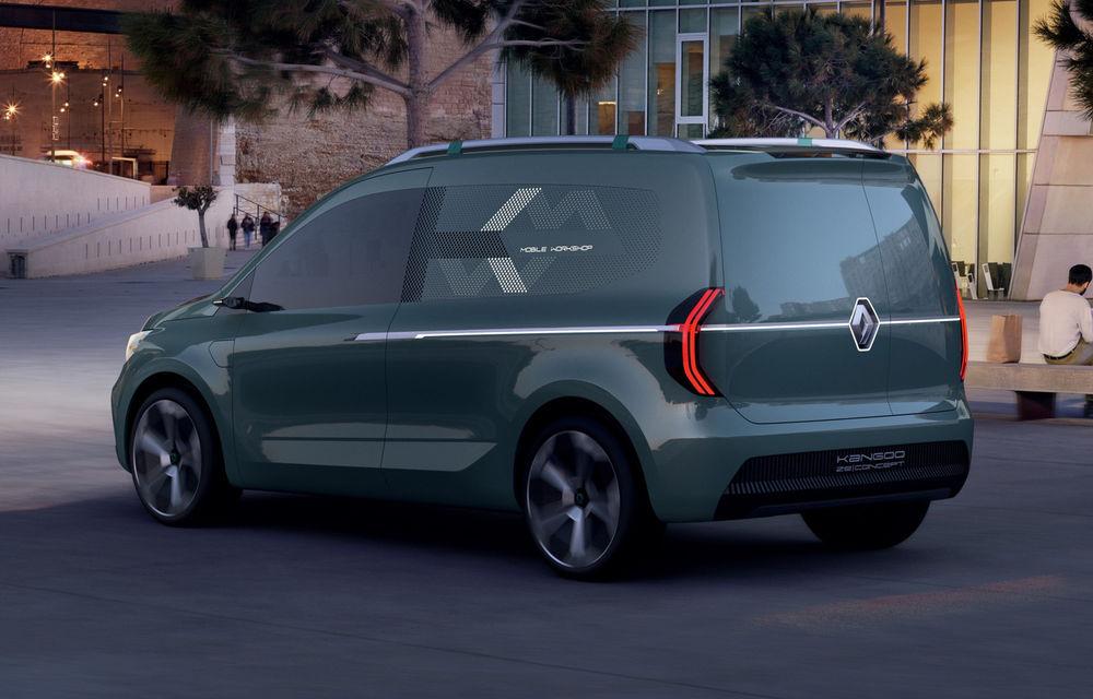 Renault Kangoo ZE: conceptul anticipează lansarea noii generații Kangoo în 2020 - Poza 5