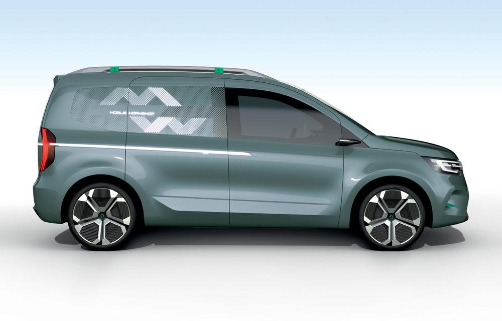 Renault Kangoo ZE: conceptul anticipează lansarea noii generații Kangoo în 2020 - Poza 7