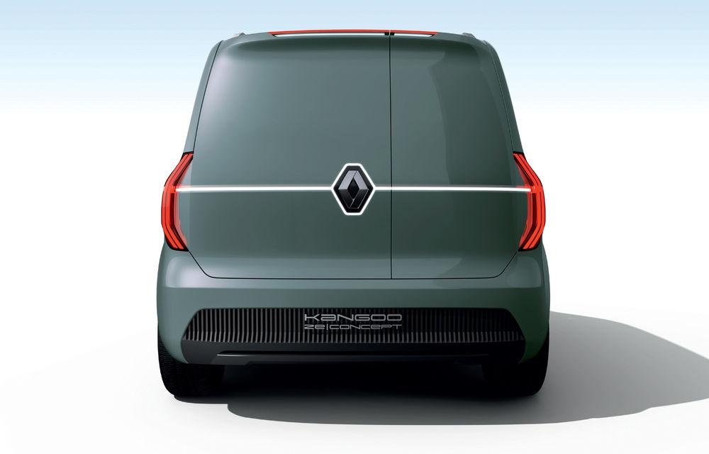 Renault Kangoo ZE: conceptul anticipează lansarea noii generații Kangoo în 2020 - Poza 8