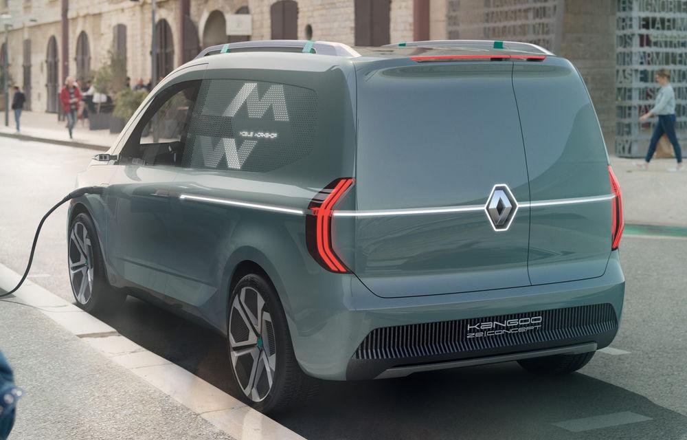 Renault Kangoo ZE: conceptul anticipează lansarea noii generații Kangoo în 2020 - Poza 4