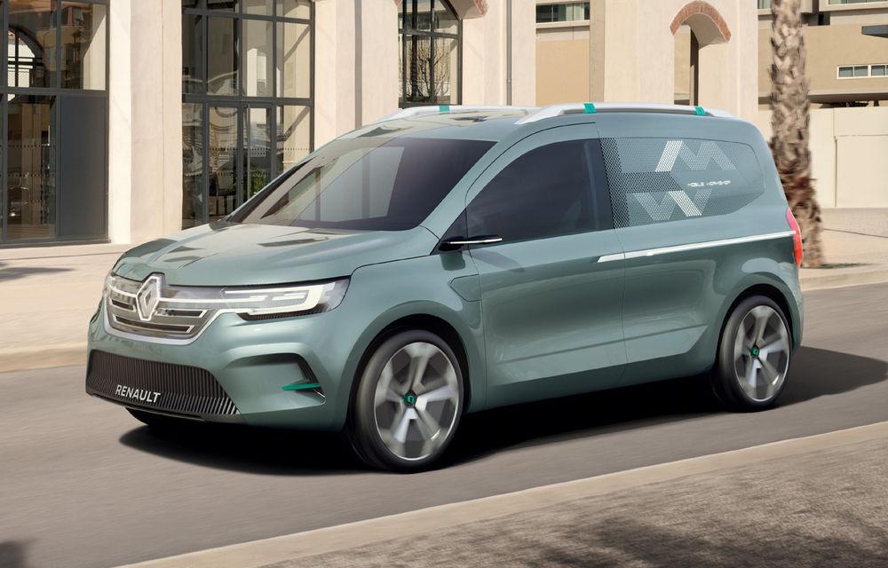 Renault Kangoo ZE: conceptul anticipează lansarea noii generații Kangoo în 2020 - Poza 1