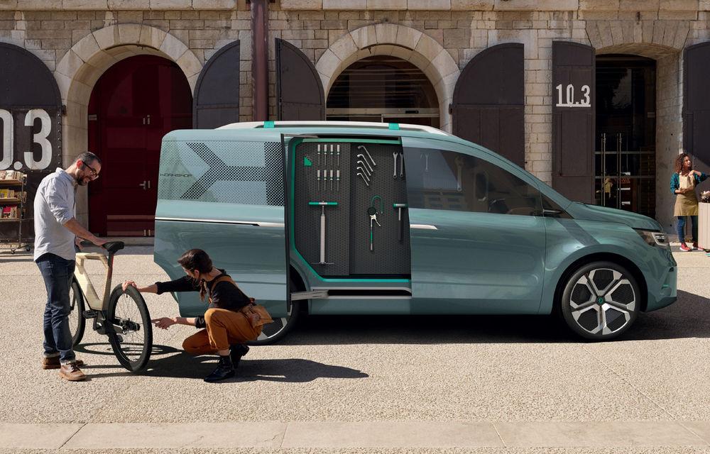 Renault Kangoo ZE: conceptul anticipează lansarea noii generații Kangoo în 2020 - Poza 3