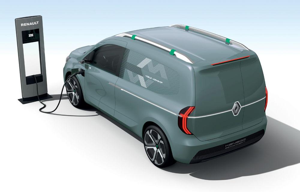 Renault Kangoo ZE: conceptul anticipează lansarea noii generații Kangoo în 2020 - Poza 9