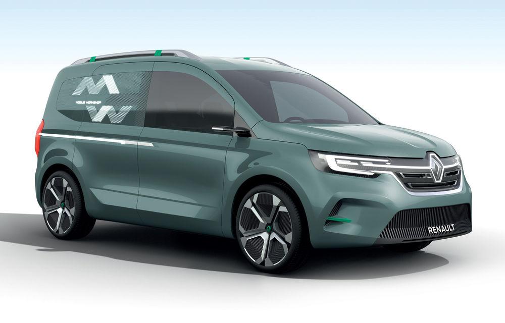 Renault Kangoo ZE: conceptul anticipează lansarea noii generații Kangoo în 2020 - Poza 6