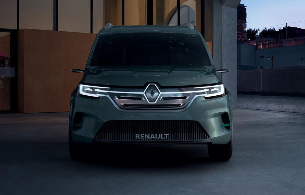Renault Kangoo ZE: conceptul anticipează lansarea noii generații Kangoo în 2020 - Poza 2