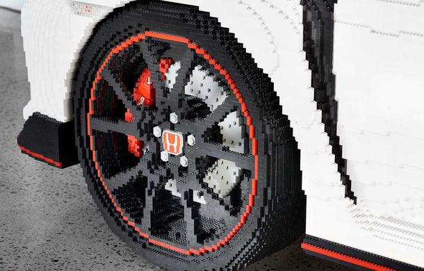 Lego a construit un Civic Type R în mărime naturală: Hot Hatch-ul este fabricat din peste 320.000 de piese - Poza 2