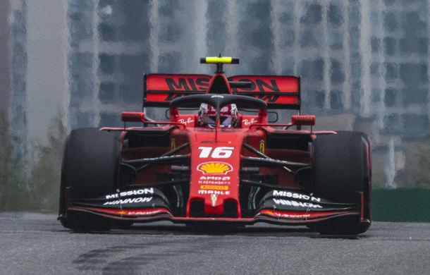 Ferrari introduce în Azerbaidjan primele update-uri pentru monopost: Hamilton anticipează că Vettel și Leclerc vor fi rapizi pe liniile drepte - Poza 1