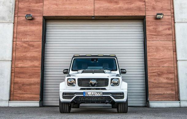 Mercedes-Benz Clasa G, preparat de Lumma: 650 CP și 900 Nm pentru versiunea AMG G63 - Poza 2