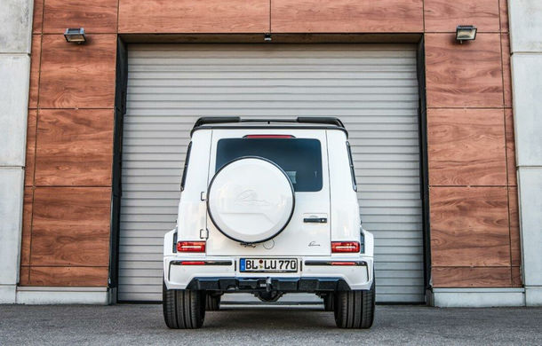 Mercedes-Benz Clasa G, preparat de Lumma: 650 CP și 900 Nm pentru versiunea AMG G63 - Poza 5