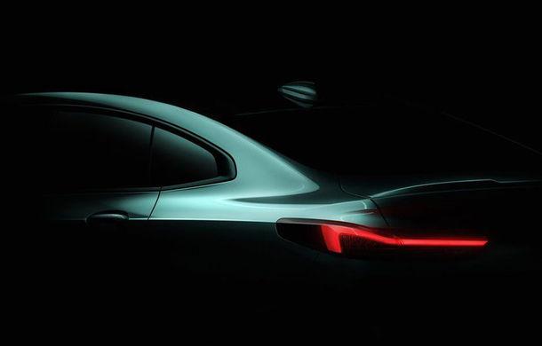 Viitorul BMW Seria 2 Gran Coupe, surprins în timpul testelor: rivalul lui Mercedes-Benz CLA va fi prezentat în cursul anului curent - Poza 1