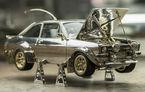 Un bijutier a produs din metale și pietre prețioase macheta unui Ford Escort Mk2: produsul va fi scos la licitație, iar banii vor fi donați în scopuri caritabile