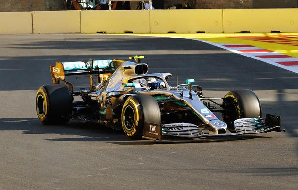 Bottas, pole position în Azerbaidjan în fața lui Hamilton! Leclerc, locul 10 după un accident - Poza 1