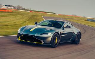 Manuala nu moare: Aston Martin Vantage AMR oferă 510 CP și o transmisie manuală cu 7 trepte
