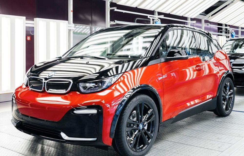 Sărbătoare la BMW: constructorul bavarez a produs 150.000 de unități i3 la uzina din Leipzig - Poza 1