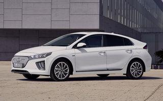 Hyundai Ioniq Electric facelift: modelul electric primește un motor de 136 CP și o baterie cu autonomie de aproape 300 de kilometri
