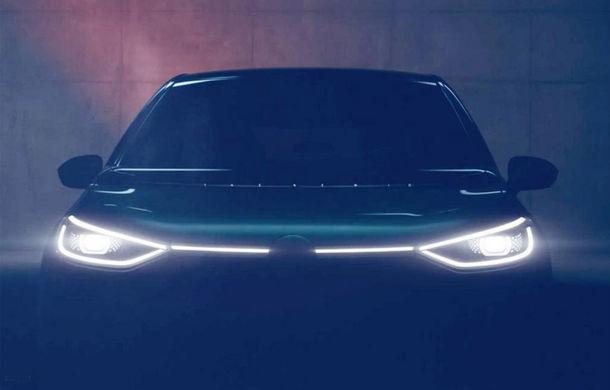 Teaser video pentru hatchback-ul electric Volkswagen ID: germanii anticipează că ediția specială de lansare va fi epuizată rapid - Poza 1