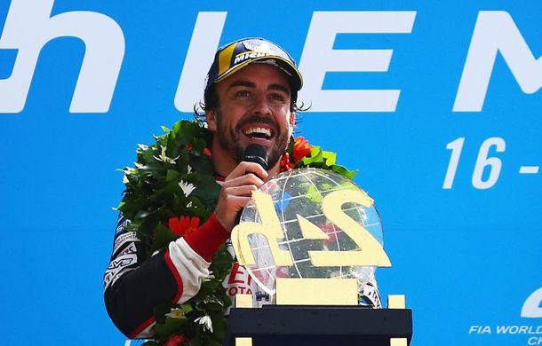 """Alonso se va retrage din anduranță după Cursa de 24 de ore de la Le Mans din iunie: """"Voi explora noi aventuri împreună cu Toyota"""" - Poza 1"""